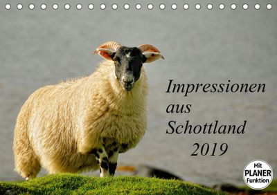 Impressionen aus Schottland (Tischkalender 2019 DIN A5 quer), Kirsten Karius