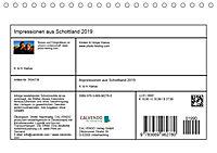Impressionen aus Schottland (Tischkalender 2019 DIN A5 quer) - Produktdetailbild 13