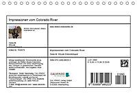 Impressionen vom Colorado River (Tischkalender 2019 DIN A5 quer) - Produktdetailbild 13