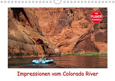 Impressionen vom Colorado River (Wandkalender 2019 DIN A4 quer), Dieter-M. Wilczek