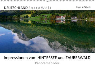 Impressionen vom HINTERSEE und ZAUBERWALD Panoramabilder (Wandkalender 2019 DIN A2 quer), Dieter-M. Wilczek