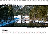 Impressionen vom HINTERSEE und ZAUBERWALD Panoramabilder (Wandkalender 2019 DIN A2 quer) - Produktdetailbild 2