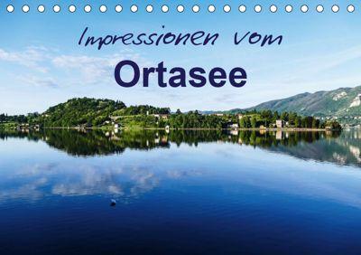 Impressionen vom Ortasee (Tischkalender 2019 DIN A5 quer), Gabi Hampe