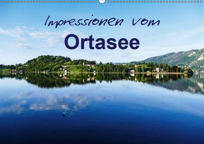 Impressionen vom Ortasee (Wandkalender 2019 DIN A2 quer), Gabi Hampe
