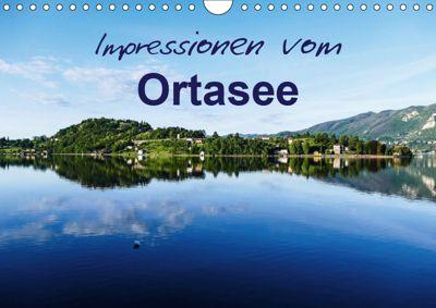 Impressionen vom Ortasee (Wandkalender 2019 DIN A4 quer), Gabi Hampe