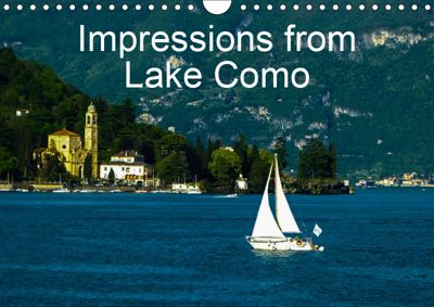 Impressions from Lake Como / UK-Version (Wall Calendar 2019 DIN A4 Landscape), Gabi Hampe