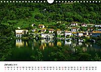 Impressions from Lake Como / UK-Version (Wall Calendar 2019 DIN A4 Landscape) - Produktdetailbild 1
