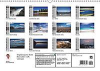 Impressions from the USA / UK-Version (Wall Calendar 2019 DIN A3 Landscape) - Produktdetailbild 13