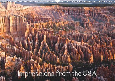 Impressions from the USA / UK-Version (Wall Calendar 2019 DIN A3 Landscape), ralf kaiser