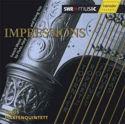 Impressions, Linos Harfenquintett, CD, Linos Harfenquintett