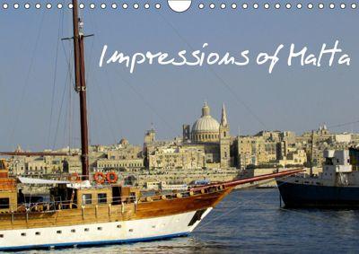 Impressions of Malta (Wall Calendar 2019 DIN A4 Landscape), Patrick Schulz