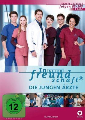 In aller Freundschaft: Die jungen Ärzte - Staffel 3, Teil 1, Roy Peter Link, Sanam Afrshteh