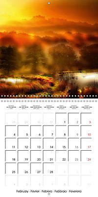 In between worlds - between day and night (Wall Calendar 2019 300 × 300 mm Square) - Produktdetailbild 2