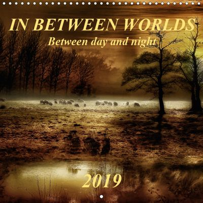 In between worlds - between day and night (Wall Calendar 2019 300 × 300 mm Square), Peter Roder