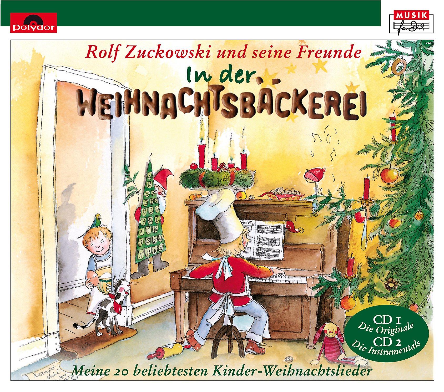 Moderne Weihnachtslieder Kindergarten.In Der Weihnachtsbäckerei Cd Von Rolf Zuckowski Bei Weltbild De