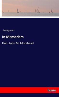 In Memoriam, Anonymous
