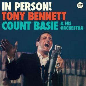 In Person!+1 Bonus Track (Ltd.Edt 180g Vinyl), Tony & Basie,Count & His Orchestra Bennett