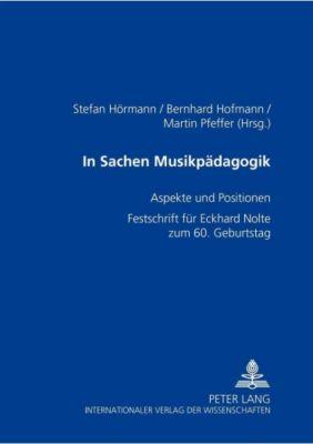 In Sachen Musikpädagogik -  pdf epub