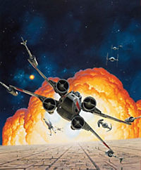 Incredibuilds: X-Wing, Set - Produktdetailbild 1