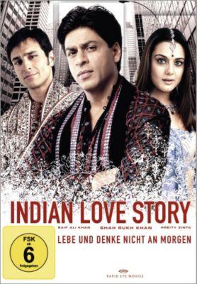 Indian Love Story: Lebe und denke nicht an morgen, Indian Love Story (einzel Dvd)
