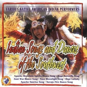 Indian Songs & Dances Of The Sout, V, A, Native American Indian Performers