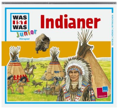 Indianer, 1 Audio-CD, Friederike Wilhelmi