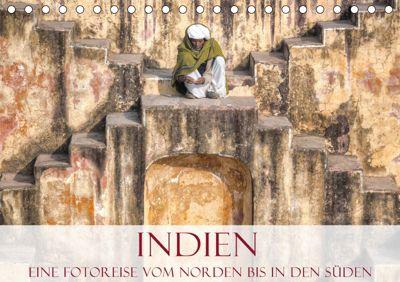 Indien - Eine Fotoreise vom Norden bis in den Süden (Tischkalender 2019 DIN A5 quer), Joana Kruse