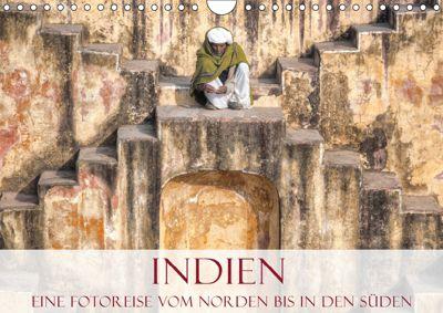 Indien - Eine Fotoreise vom Norden bis in den Süden (Wandkalender 2019 DIN A4 quer), Joana Kruse