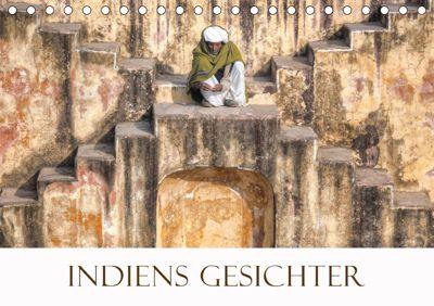 Indiens Gesichter (Tischkalender 2019 DIN A5 quer), Joana Kruse