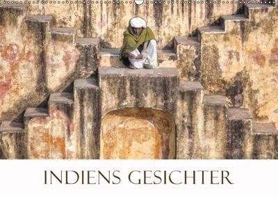 Indiens Gesichter (Wandkalender 2019 DIN A2 quer), Joana Kruse