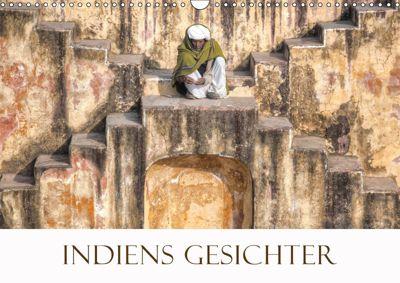 Indiens Gesichter (Wandkalender 2019 DIN A3 quer), Joana Kruse