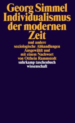 Individualismus der modernen Zeit, Georg Simmel