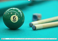 Indoor Aktivitäten. Billard, Darts und Bowling. Impressionen (Wandkalender 2019 DIN A2 quer) - Produktdetailbild 13
