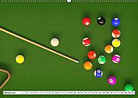 Indoor Aktivitäten. Billard, Darts und Bowling. Impressionen (Wandkalender 2019 DIN A2 quer) - Produktdetailbild 12