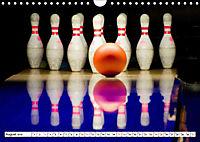 Indoor Aktivitäten. Billard, Darts und Bowling. Impressionen (Wandkalender 2019 DIN A4 quer) - Produktdetailbild 8