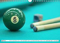 Indoor Aktivitäten. Billard, Darts und Bowling. Impressionen (Wandkalender 2019 DIN A4 quer) - Produktdetailbild 4