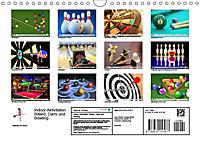 Indoor Aktivitäten. Billard, Darts und Bowling. Impressionen (Wandkalender 2019 DIN A4 quer) - Produktdetailbild 13