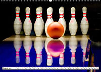 Indoor Aktivitäten. Billard, Darts und Bowling. Impressionen (Wandkalender 2019 DIN A2 quer) - Produktdetailbild 8