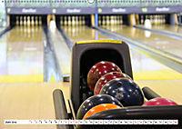 Indoor Aktivitäten. Billard, Darts und Bowling. Impressionen (Wandkalender 2019 DIN A2 quer) - Produktdetailbild 6