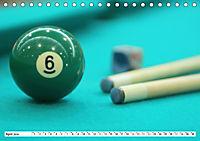 Indoor Aktivitäten. Billard, Darts und Bowling. Impressionen (Tischkalender 2019 DIN A5 quer) - Produktdetailbild 4