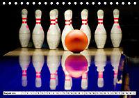 Indoor Aktivitäten. Billard, Darts und Bowling. Impressionen (Tischkalender 2019 DIN A5 quer) - Produktdetailbild 8