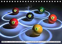 Indoor Aktivitäten. Billard, Darts und Bowling. Impressionen (Tischkalender 2019 DIN A5 quer) - Produktdetailbild 10