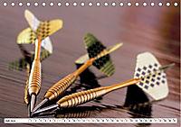 Indoor Aktivitäten. Billard, Darts und Bowling. Impressionen (Tischkalender 2019 DIN A5 quer) - Produktdetailbild 7