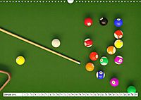 Indoor Aktivitäten. Billard, Darts und Bowling. Impressionen (Wandkalender 2019 DIN A3 quer) - Produktdetailbild 1