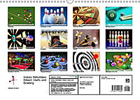 Indoor Aktivitäten. Billard, Darts und Bowling. Impressionen (Wandkalender 2019 DIN A3 quer) - Produktdetailbild 13