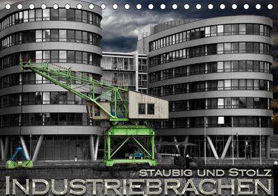 Industriebrachen staubig und stolz (Tischkalender 2019 DIN A5 quer), Heribert Adams