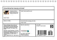 Industriebrachen staubig und stolz (Tischkalender 2019 DIN A5 quer) - Produktdetailbild 13