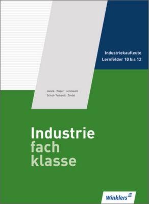 Industriefachklasse: Bd.3 3. Ausbildungsjahr für Industriekaufleute: Lernfelder 10 bis 12, Schülerband