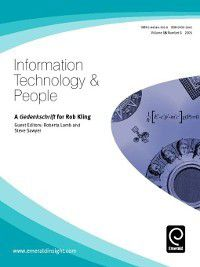 Information Technology & People: Information Technology & People, Volume 18, Issue 1