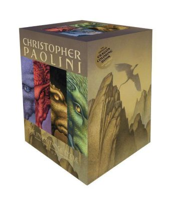 Inheritance Cycle 4 Book Set, Christopher Paolini